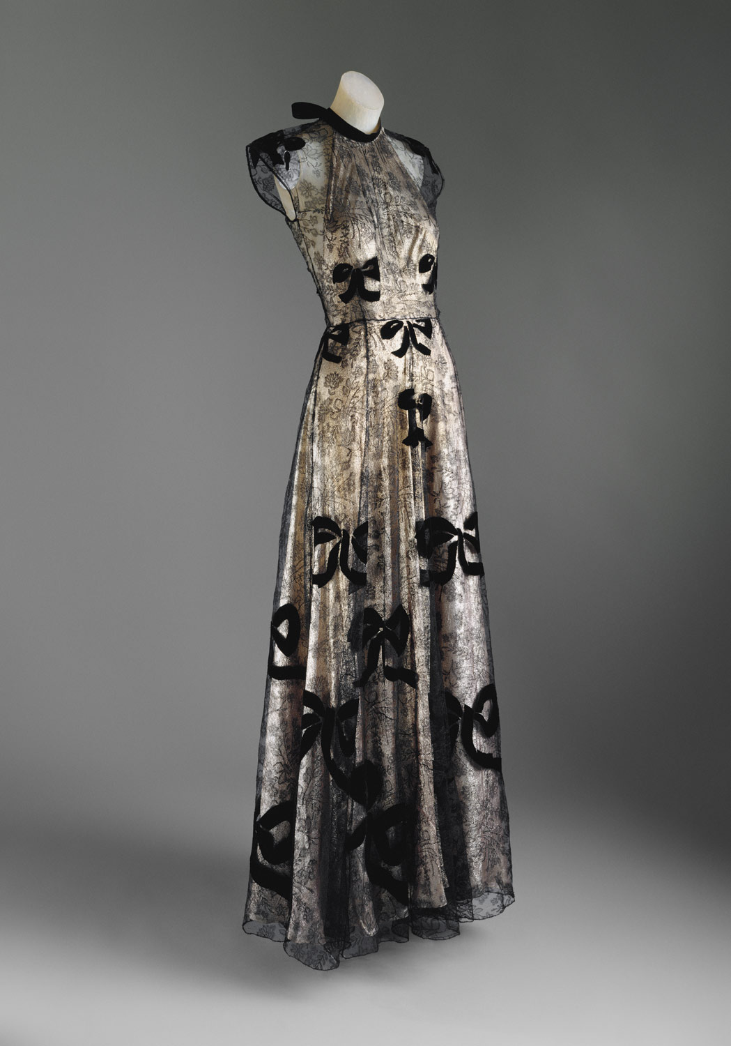 Evening dress | Madeleine Vionnet | C.I.52.24.2a,b | Work of Art ...