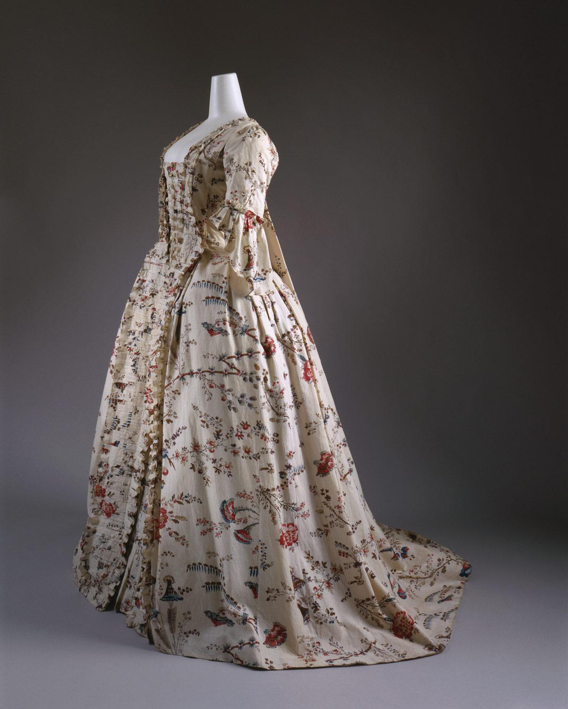 Robe A La Francaise Work Of Art Heilbrunn Timeline Of
