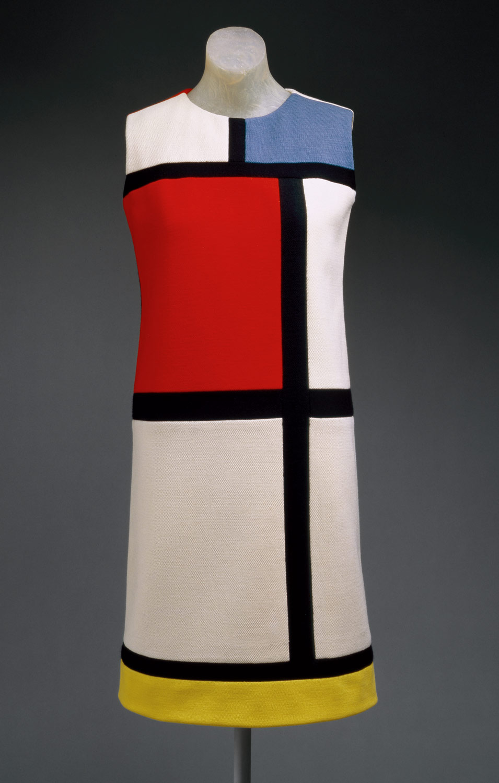 Image result for ysl mondrian dress