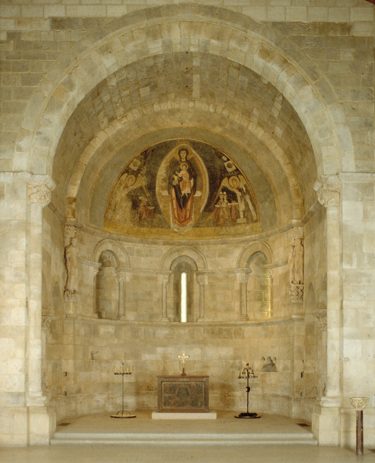 Apse from San Martín at Fuentidueña