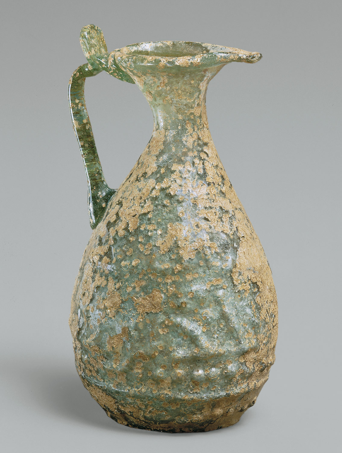 Ewer with Molded Inscription