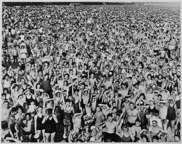 Weegee (American, born Hungary, 1899–1968) | Coney Island Beach | 1987.1100.252