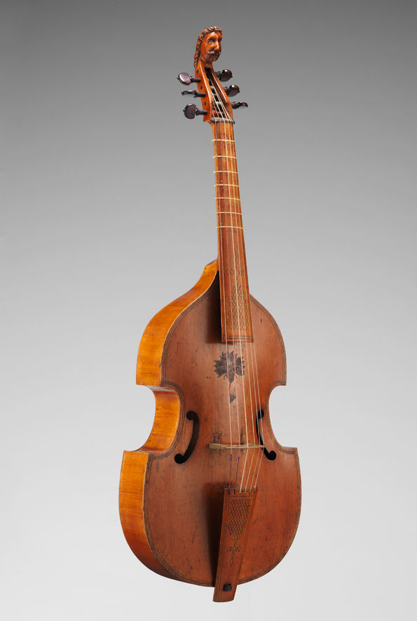Viola da gamba. London, United Kingdom, 1640–65 (2009.42)
