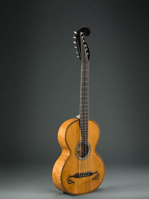 Johann Georg Stauffer (1778–1853) and Johann Anton Stauffer (1805–1871). Terz Guitar, Legnani model, ca. 1828–30