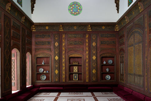 The Damascus Room, A.H. 1119/ A.D. 1707 | Syria, Damascus | 1970.170