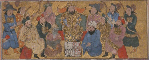 Buzurgmihr Masters the Game of Chess
