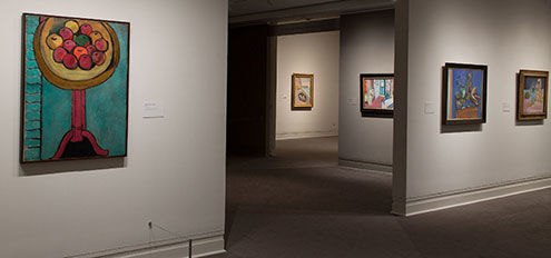 Matisse: In Search of True Painting, installation view of gallery 3