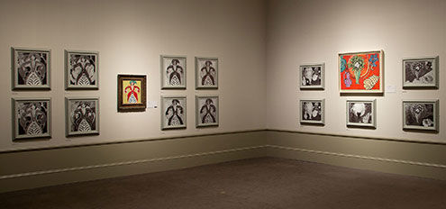 Matisse: In Search of True Painting, installation view of gallery 7