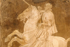 Antonio Pollaiuolo (Italian, Florence ca. 1432–1498 Rome), Study for an Equestrian Monument, ca. 1482–83