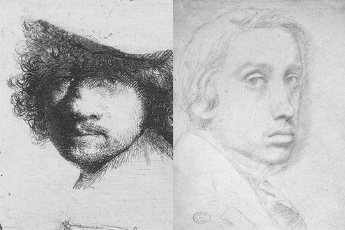 Rembrandt and Degas: Portrait of the Artist as a Young Man