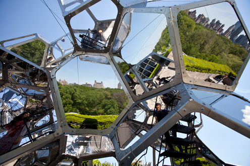 Tomás Saraceno's Cloud City, 2012