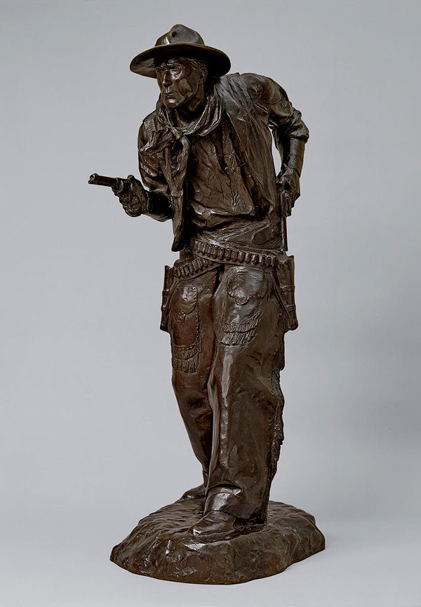 Charles Cristadoro (American, 1881–1967). Two Gun Bill (William S. Hart), 1917 (cast 1925 or after)