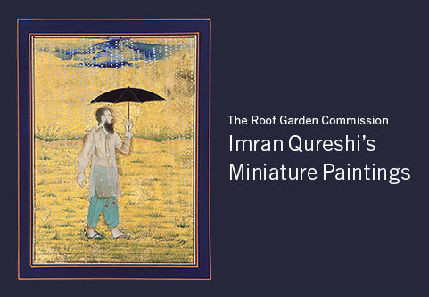 The Roof Garden Commission: Imran Qureshi's Miniature Paintings