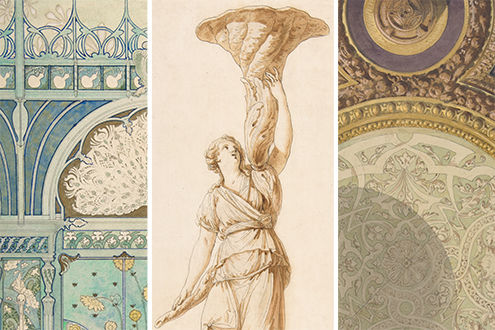 Living in Style: Five Centuries of Interior Design from the Collection of Drawings and Prints
