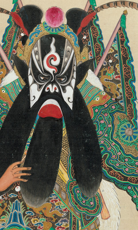 Unidentified Artist | Album of 100 Portraits of Personages from Chinese Opera (detail) | 30.76.299a–xx