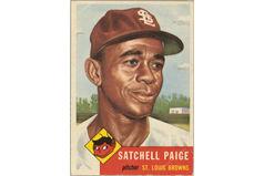 "Leroy Robert ""Satchel"" Paige (Burdick 328, R414-7.219)"