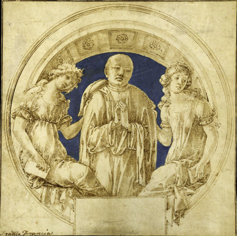 Francesco di Giorgio Martini (Italian, 1439–1501). Design for a Wall Monument, ca. 1490(?)