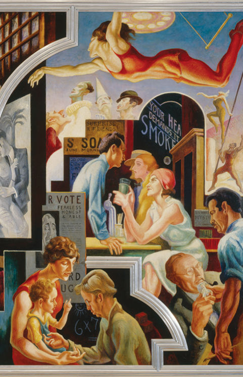 Thomas Hart Benton�s �America Today� Mural Rediscovered