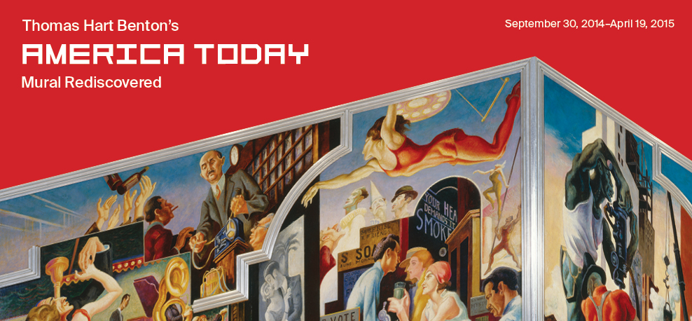 Thomas Hart Benton's America Today Mural Rediscovered | September 30, 2014–April 19, 2015