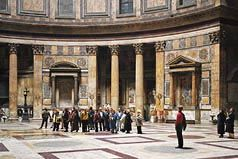 Thomas Struth (German, b, 1954). Pantheon, Rome, 1990. Chromogenic print. Private collection, New York