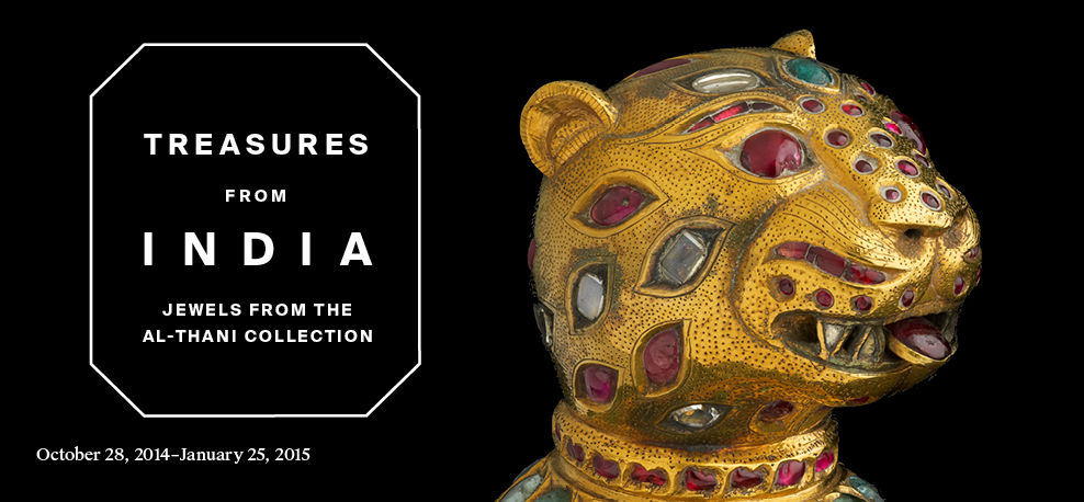 Treasures from India: Jewels from the Al-Thani Collection | October 28, 2014–January 25, 2015