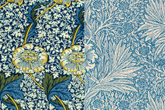 William Morris: Textiles and Wallpaper
