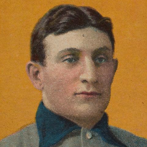 Honus Wagner jersey (detail)