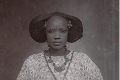 Unknown Artist (Senegal). Portrait of a Woman, ca. 1910
