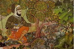 Rawat Gokuldas (r. 1786–1821) Hunting Tigers