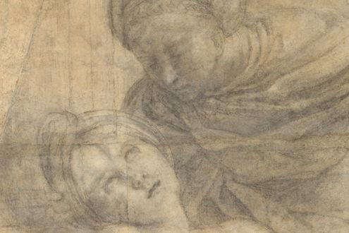 The Martyrdom of Saint Cecilia (Cartoon for a Fresco) (detail), 1612–14
