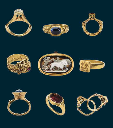 Rings from Griffin Collection