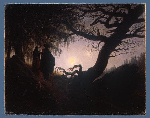 Caspar David Friedrich Quotes: Caspar David Friedrich: Moonwatchers