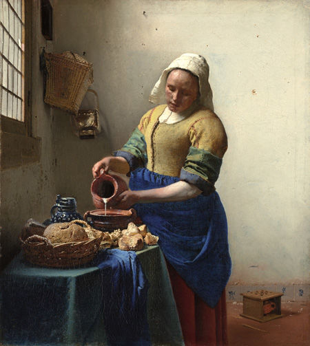 <i>The Milkmaid</i>